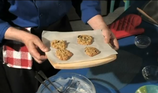 Manfreed's deliciously easy to make from scratch, healthy homemade by you Oatmeal Cookies recipe